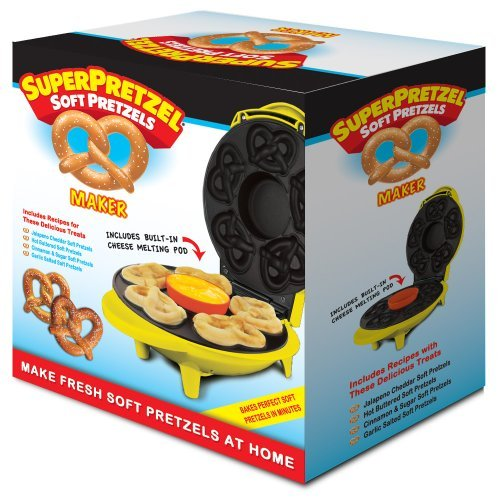 Smart Planet SPM-2 SuperPretzel Soft Pretzel Maker, Garden, Lawn, Maintenance