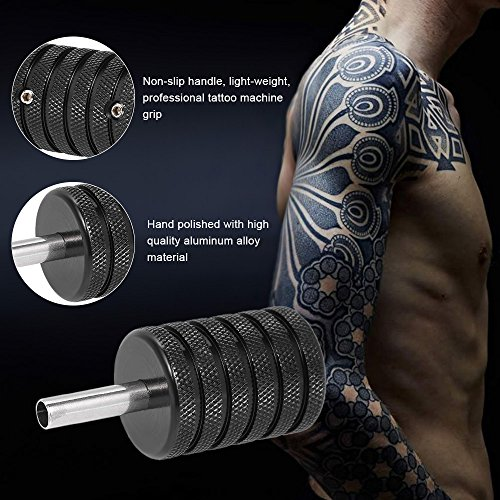 Anself Agarre de Aluminio de Máquina de Tatuaje: Amazon.es: Belleza
