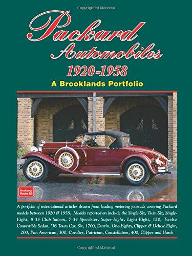 Packard Automobiles 1920-1958 (Brooklands Portfolios)