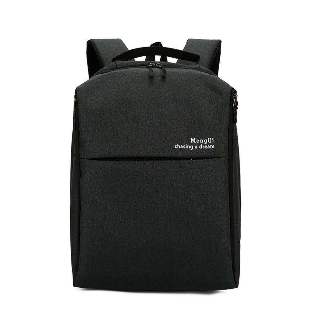 XFGHN Home Multifunktionsrucksack, Schultertasche mit großem Fassungsvermögen, Umhängetasche für Paare, Rucksack, Blau (Farbe   schwarz)