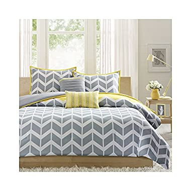 Intelligent Design Nadia Comforter Set - Yellow - King/Cal King
