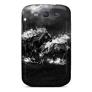 Hard Plastic Galaxy S3 Case Back Cover,hot Equestrian Storm Case At Perfect Diy