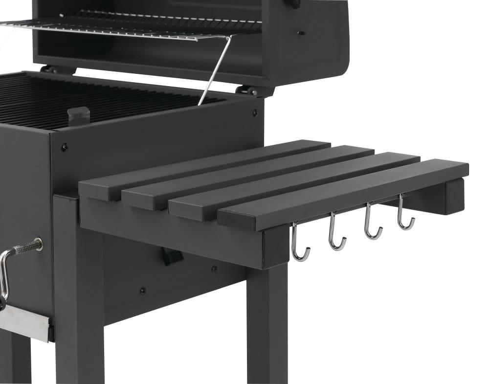 Tepro Toronto Holzkohlegrill Mit Grillrosteinsatz : Tepro holzkohlegrill grillwagen toronto xxl grillfläche cm