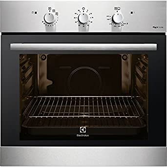 Electrolux F13GX Gas natural 69L 1760W A+ Negro, Acero inoxidable ...