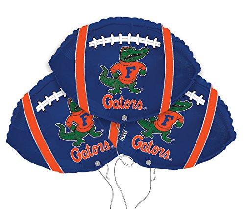 University of Florida College Football Mylar Balloon 3 Pack