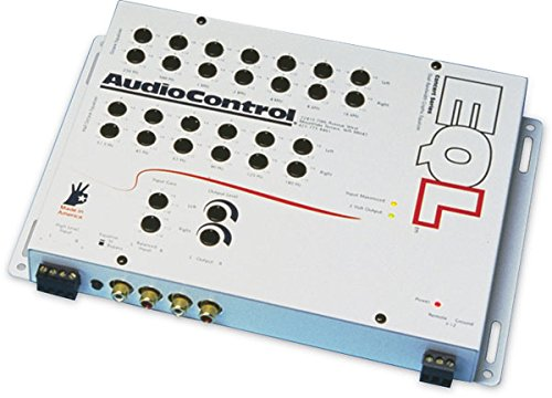 EQL - AudioControl Pre-Amp Equalizer with 13 Volt Line Driver by AudioControl