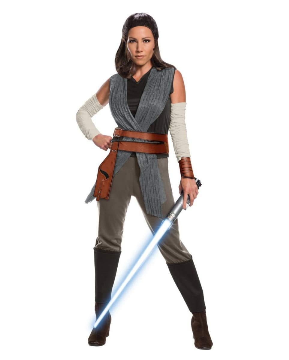 Horror-Shop Star Wars Rey Ladies Costume Deluxe M: Amazon.es ...