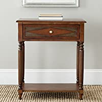Safavieh American Homes Collection Susan Dark Brown Side Table
