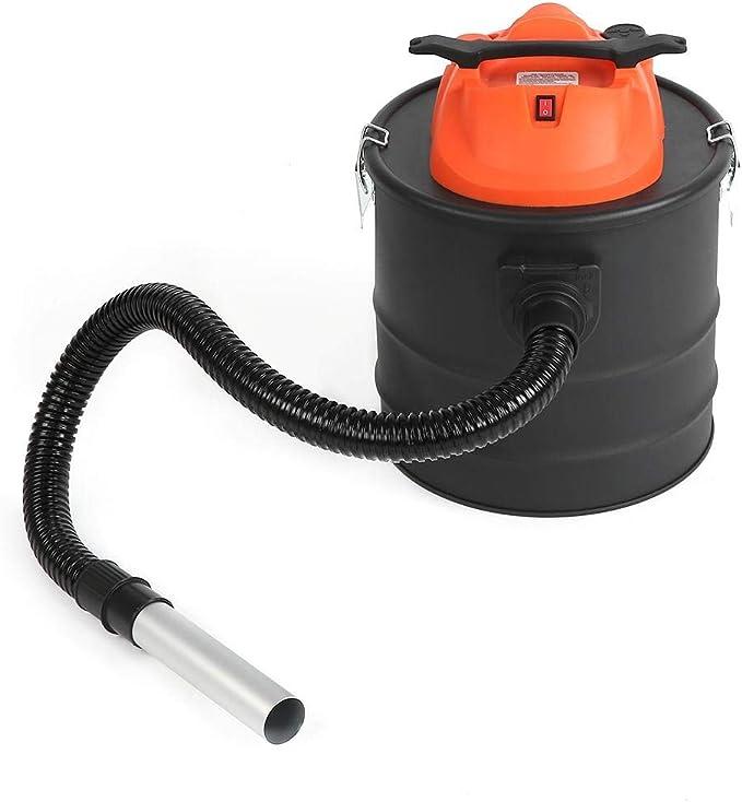 Ausla - Aspirador de Cenizas eléctrico, 1000 W, 18 L, 1 Tubo ...