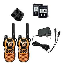 Motorola MT350R FRS Weatherproof 2-Way 35-Mile Radio, Orange