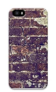 iPhone 5 5S Case Brick Wall Texture99 3D Custom iPhone 5 5S Case Cover