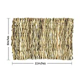 Flying Spoon Grass Mat for Rabbits, Natural