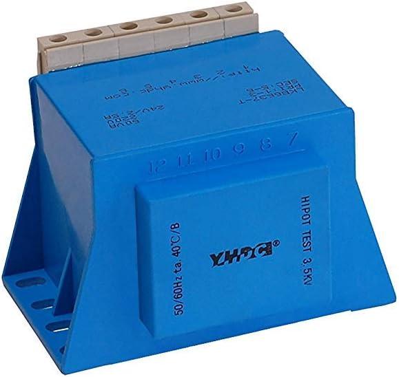 YHDC Transformadores para Montaje en Placa LKB6637 -T-60VA Entrada: 220V Salida: 24V