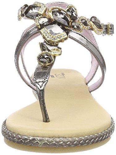 Bride Lamina Gun Metal Sandales 405 Or Femme Stonefly T09 Lux 4 Cheville 10 wRxYR4Oq