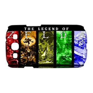 Hot Game The Legend of Zelda Hard Plastic Back Protective Case for Samsung Galaxy S3 I9300 TP-4