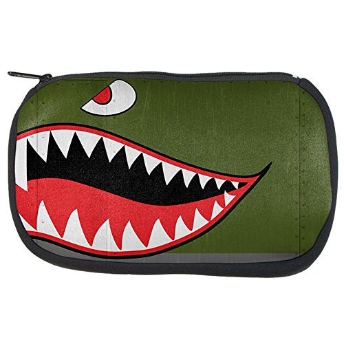 Bag WWII Nose Multicoloured Shark Fighter Flying Art Travel Tiger Halloween 4p7wFxx