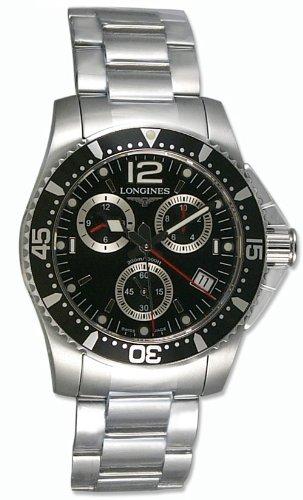 Longines - l3.643.4.56.6 - Chrono hombre acero inoxidable - movimiento cuarzo: Amazon.es: Relojes