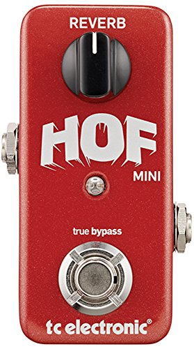 TC Electronic HOF Mini Reverb pedal (Best Vocal Chain With Waves)
