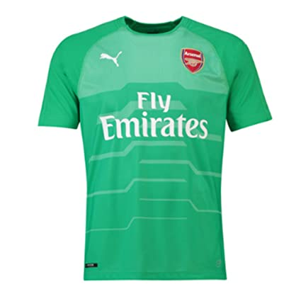 77707ad81c1 Amazon.com   PUMA 2018-2019 Arsenal Away SS Goalkeeper Football ...