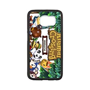 Samsung Galaxy S6 Cell Phone Case Black Animal Crossing New Leaf 027 GY9015579