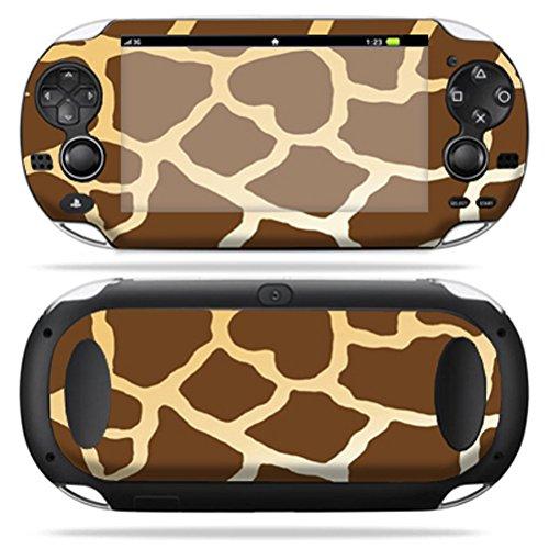 Giraffe Faceplate - MightySkins Protective Vinyl Skin Decal Cover for PS Vita PSVITA Playstation Vita Portable wrap sticker skins Giraffe