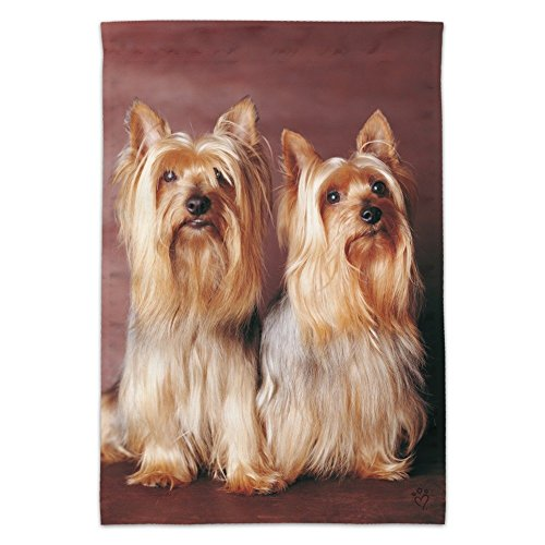Graphics and More Yorkie Yorkshire Terrier Buddies Garden Ya