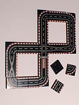 Hauke Trade Carreras en Lego baldosas Impreso, para una tipo Carrera Tren nachzubauen: Amazon.es: Juguetes y juegos