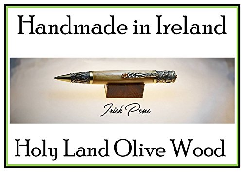 A pen handmade in Ireland, a Phoenix pen and Harry Potter chamber of secrets is a great place to see a Phoenix being reborn,this is an Olive Wood pen, handmade in Ireland by Irish Pens