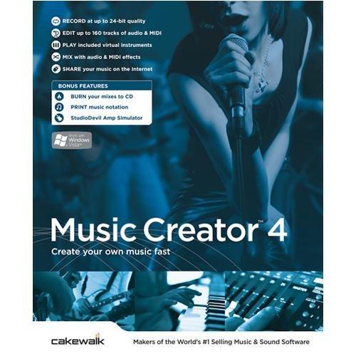 Cakewalk Music Creator 4 [OLD VERSION] 10-CWMC4.00-10C