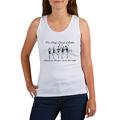 60038f11296c6c Amazon.com  CafePress Miss Patty s School of Ballet Tank Top  Clothing