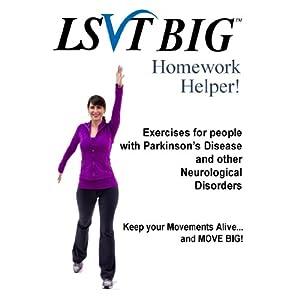 Lsvt big homework helper dvd