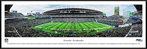 (Seattle Seahawks - Standard Framed NFL Print by Blakeway Panoramas)