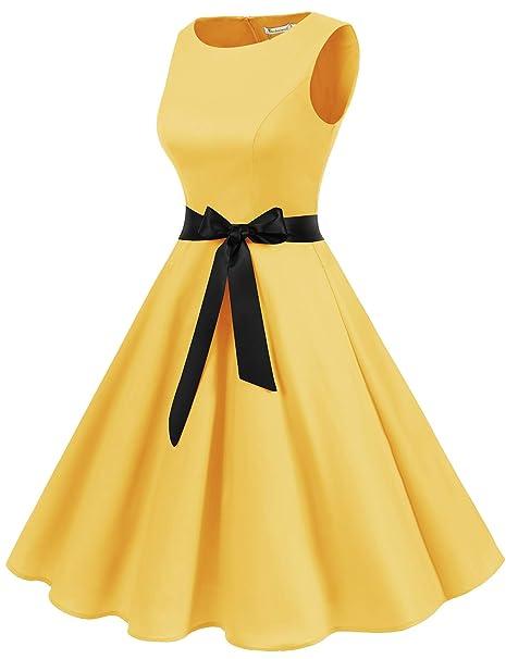 Women's 1950s Retro Cocktail Swing Party Dress