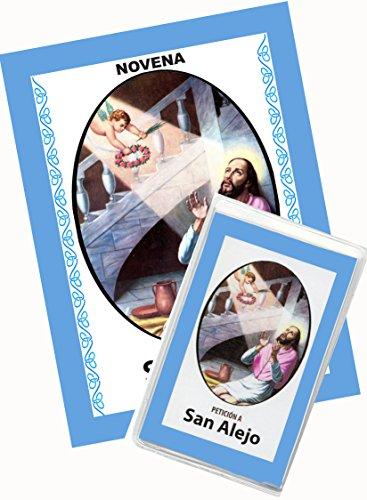 Novena De San Alejo para Alejarse y Protegerse de Personas Indeseables y Dañinas. (Corazón Renovado) (Novena A La Sangre De Cristo Original)