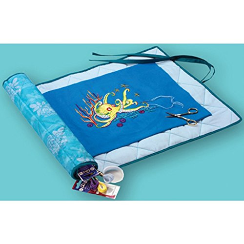 Needlework Project Keeper-24x16.5 Turquoise