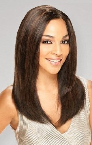 RAIN 100% HUMAN HAIR INDIAN REMY LOOSE DEEP 4PCS EXTENSIONS #1B Off Black by - Indian Remy Weave