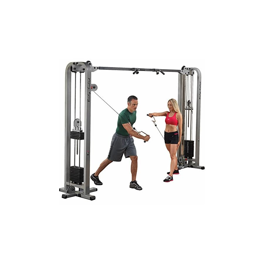 Body Solid Pro Clubline Cable Crossover Machine 2x 165 lb Stacks
