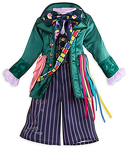The Fly Movie Costume (Disney Store Kids Alice Through Looking Glass Mad Hatter 3 Piece Costume (5/6))