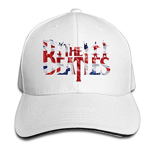 Baseball Caps White Fashion Sandwich Bucket Hat The Beatles Logo for Unisex ()