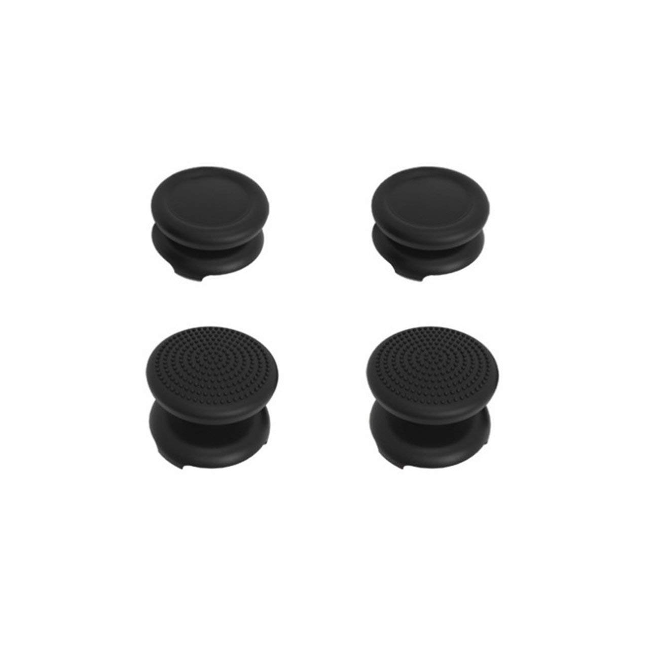 Liobaba Durable Heighten Rocker Cap for PS3 Handle Controller Cap for PS4 ONE Rocker Silicone Skid Cover Protective Case