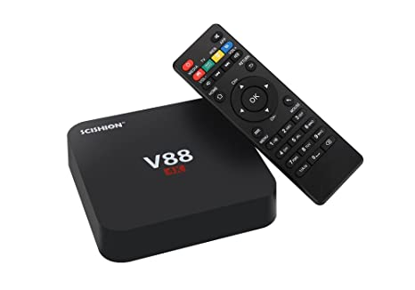 SCISHION X 2GB+16GB Android 8.1 TV BOX RK3229 Quad Core WiFi 4K Media w//Keyboard