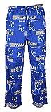 Kansas City Royals Mens MLB Royal Fusion Pajama Pants
