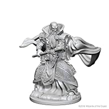 D&D Unpainted Nolzur's Marvelous Miniatures Male Human Wizard