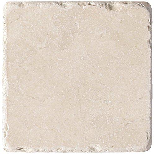 Botticino, Burdur Beige Tumbled Marble 1 SQFT (6x6 TILE) ()