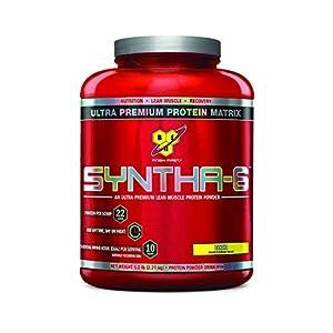 BSN SYNTHA-6 Protein Powder, Whey Protein, Micellar Casein, Milk Protein Isolate, Flavor: Banana, 48 Servings