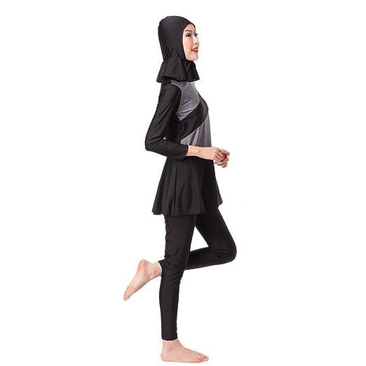 Meijunter Women Flower Muslim Islamic Burkini Swimwear Middle East Swimsuit