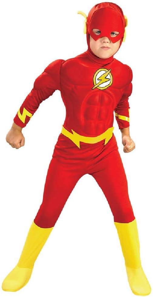 COOGG Disfraz superhéroe niños role-playing movie logo lightning ropa infantil