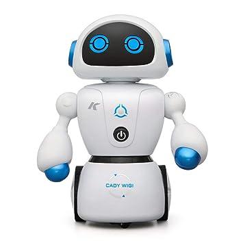 Amazon.es: MODELTRONIC JJR/C R6 Cady WIGI Inteligente Robot con Mando a Distancia / Programable USB / Modo de Seguimiento de Línea / Baila con música ...
