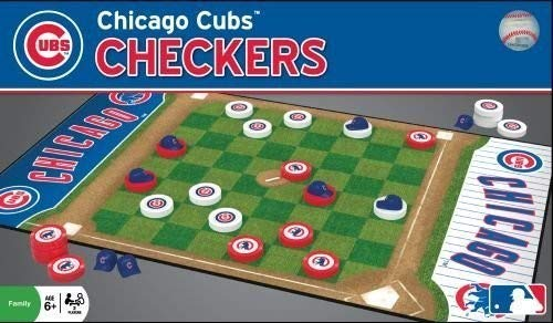 (MasterPieces MLB Chicago Cubs Checkers Board Game)