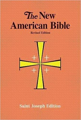 The New American Bible - Saint Joseph Student Edition Full Size 611